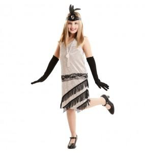 Costume da Charleston eleganza per bambina