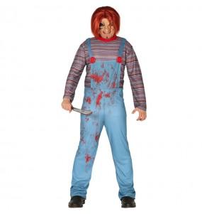 Costume da Chucky la bambola insanguinata per uomo
