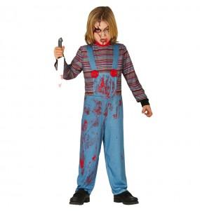 Costume da Chucky la bambola insanguinata per bambino