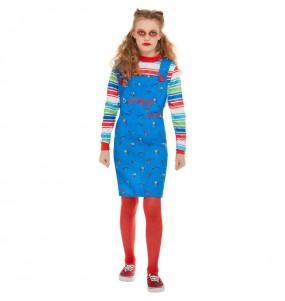 Costume da Chucky per bambina