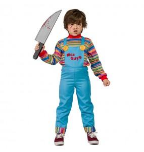 Travestimento Bambola Assassina Chucky bambini per una festa ad Halloween
