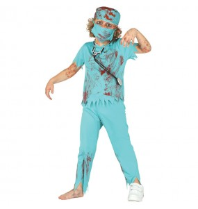 Travestimento Medico Zombie bambino che più li piace