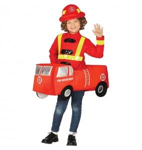 Travestimento Camion dei Pompieri bambino che più li piace