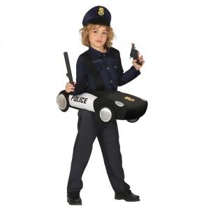 Travestimento Macchina della polizia bambino che più li piace