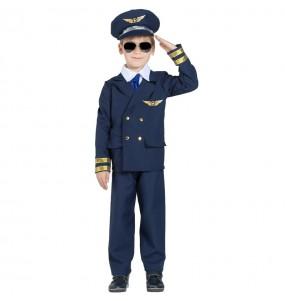 Costume da Comandante di volo per bambino