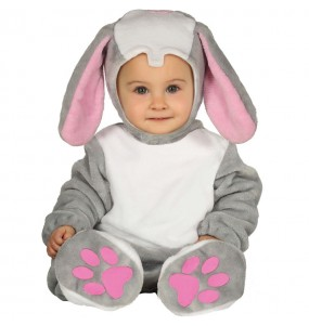 Costume da piccolo coniglio per neonato