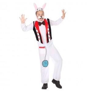 Travestimento Coniglio Bianco Alice bambino che più li piace
