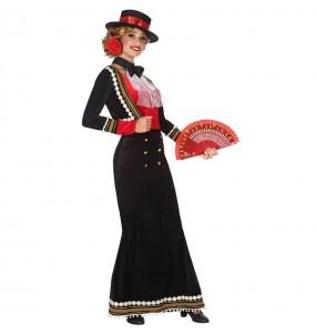 Travestimento Cordobese Spagnola donna per divertirsi e fare festa