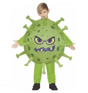 Costume da Coronavirus gonfiabile per bambino