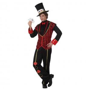 Costume da Croupier di poker per uomo