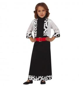 Costume da Crudelia de Mon per bambina