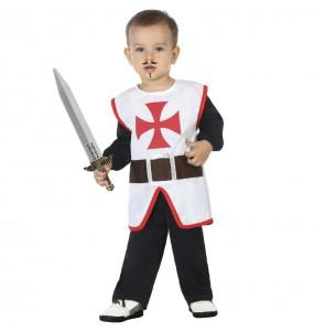 Costume da Crociato medievale per neonato