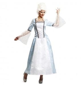 Travestimento Dama di Versailles donna per divertirsi e fare festa