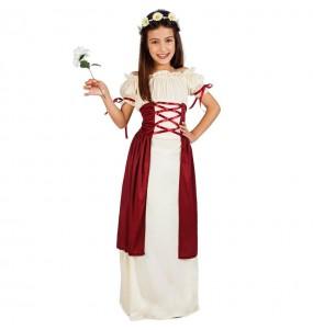 Costume da Principessa medievale Gadea per bambina