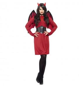 Costume da Demone con ali per donna