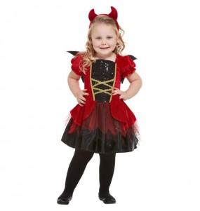 Costume da Diavolessa con ali per neonato
