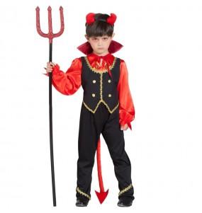 Travestimento Demone Inferno bambini per una festa ad Halloween