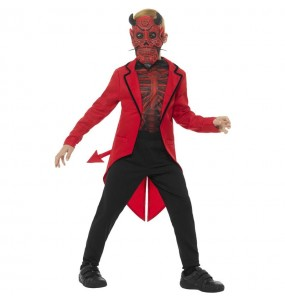 Costume da Demone del giorno dei morti per bambino