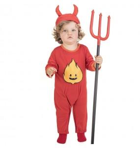 Travestimento Diavoletto Infernale neonati con il quale il tuo bambino farà paura
