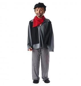 Travestimento Spazzacamino Mary Poppins bambino che più li piace