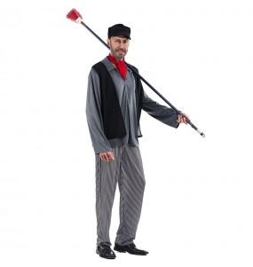 Travestimento Spazzacamino Mary Poppins adulti per una serata in maschera