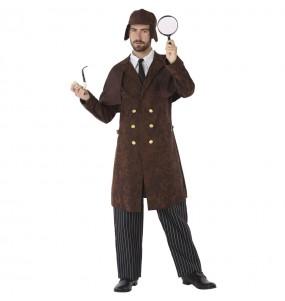 Travestimento Detective Sherlock Holmes adulti per una serata in maschera