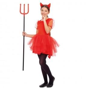 Costume da Diavoletta tutù per bambina