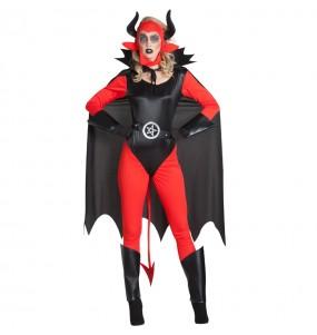 Costume Diavolessa Lucifer donna per una serata ad Halloween
