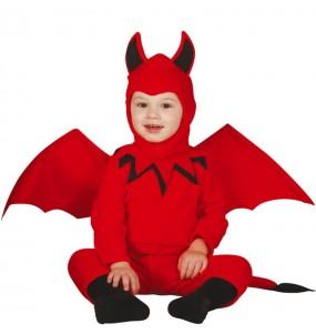 Costume da Diavolo alato per neonato