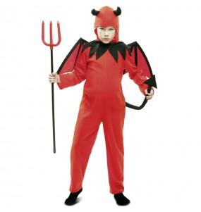 Travestimento Diavolo rosso bambini per una festa ad Halloween
