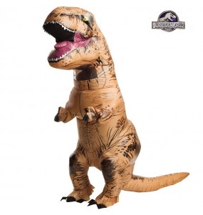 Travestimento Dinosauro T-Rex gonfiabile adulti per una serata in maschera
