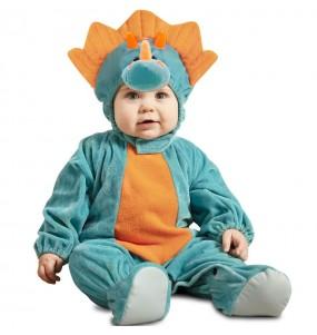 Costume da Dinosauro Triceratopo per neonato