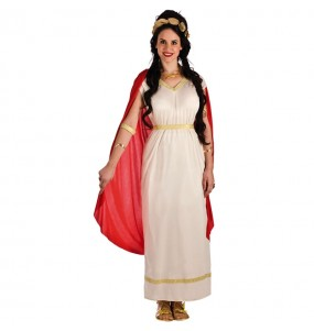 Travestimento Dea Greca dell'Olimpo donna per divertirsi e fare festa
