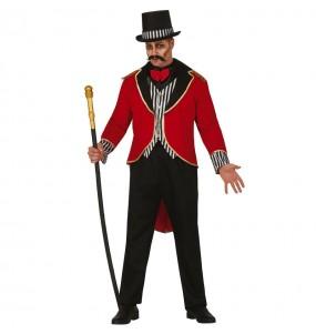 Costume da direttore di circo terrore per uomo