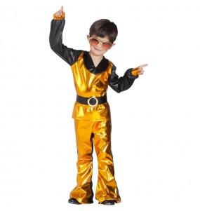 Travestimento Ballerino Disco Dorato bambino che più li piace