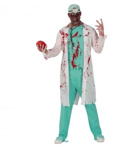 Costume da Dottore zombie per uomo