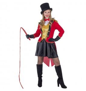 Travestimento Domatrice Circo donna per divertirsi e fare festa