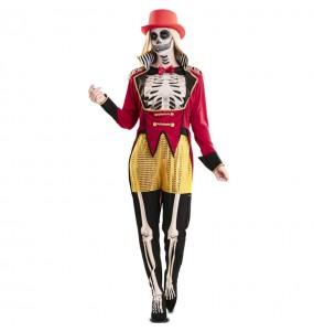 Costume da Domatrice scheletro per donna