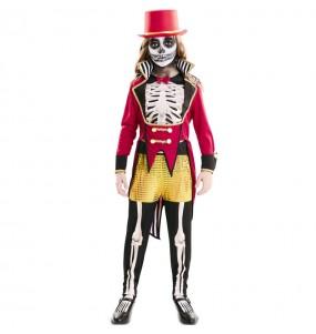 Costume da Domatrice scheletro per bambina