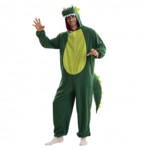 Costume da Drago Verde per uomo