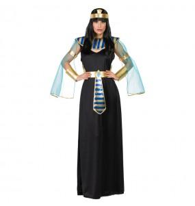 Travestimento Egiziana Asenet donna per divertirsi e fare festa