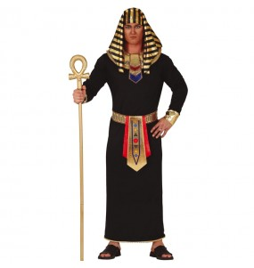 Travestimento Egiziano Nero adulti per una serata in maschera