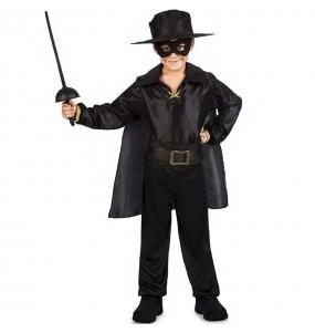 Costume da Zorro mascherato per bambino