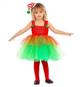 Costume da Elfa con tutù per bambina