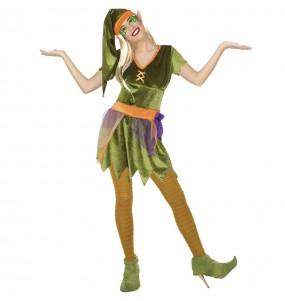 Costume da Elfa del bosco per donna