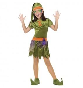 Costume da Elfa del bosco per bambina