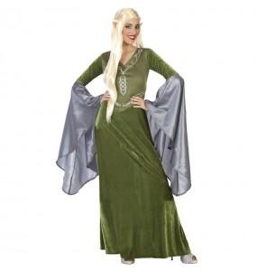 Costume da Elfa verde per donna