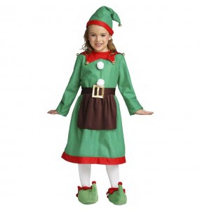 Travestimento Elfo bambina che più li piace