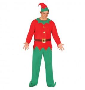 Travestimento Elfo Babbo Natale adulti per una serata di Natale