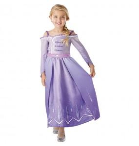 Travestimento Elsa Frozen 2 Prologue bambina che più li piace